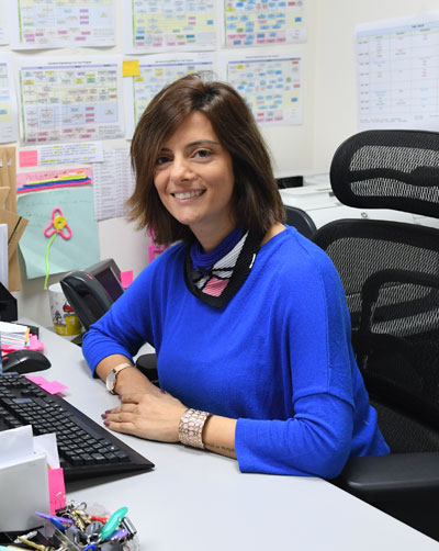 Faculty Joyce Feghali